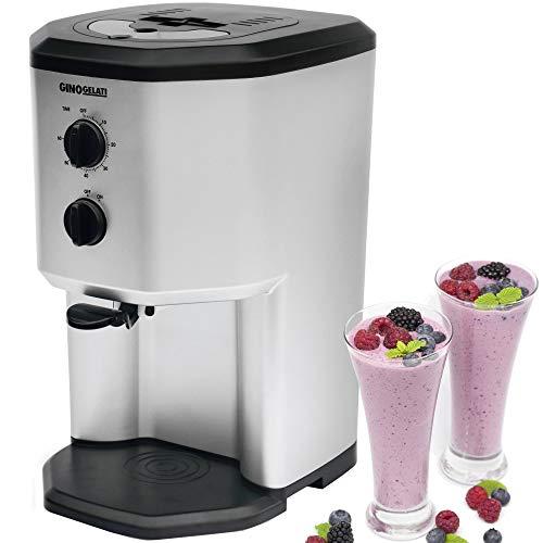 gino gelati gg 95w bs softeismaschine mit kompressor frozen yogurt milchshake maschine. Black Bedroom Furniture Sets. Home Design Ideas